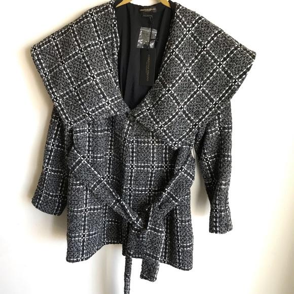 Christian Siriano Jackets & Blazers - Christian Siriano for Lane Bryant Plaid Jacket